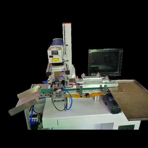 轴向包胶电容激光机